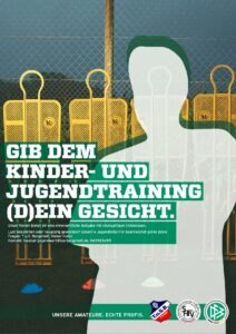 DFB Poster Trainersuche T.u.S. Bargstedt bauch beine po